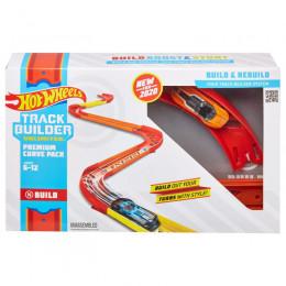 Hot Wheels Track Builder - Zestaw torów z zakrętami - GLC88
