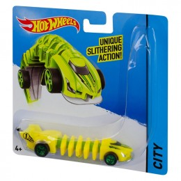 Hot Wheels Mutant Flexforce Żółty