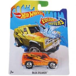 Hot Wheels BHR15 Samochodzik zmieniający kolor Baja Breaker BHR18