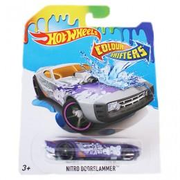 Hot Wheels BHR15 Samochodzik zmieniający kolor NitroDoorslammer CFM30