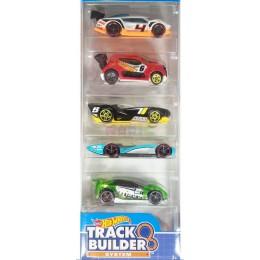 Hot Wheels 1806  Zestaw pięciu samochodów Track Builder  DJD27