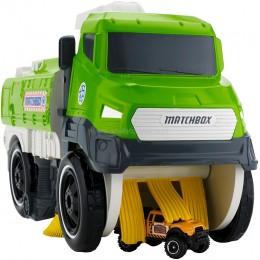 Hot Wheels Zamiatarka Samochodzików Matchbox DWG67