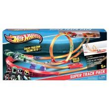 Hot Wheels Track Builder - Superpakiet torów Y0276