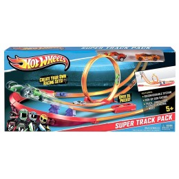 Hot Wheels Track Builder - Superpakiet torów Y0276