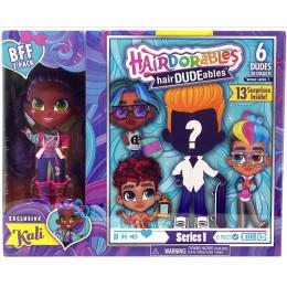Hairdorables - Laleczka Kali i chłopiec hairDUDEables - 13 niespodzianek 23701