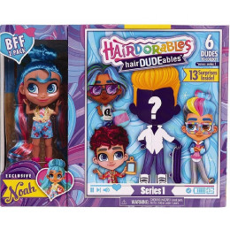Hairdorables - Laleczka Noah i chłopiec hairDUDEables - 13 niespodzianek 23701