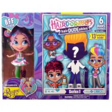 Hairdorables - Laleczka Rayne i chłopiec hairDUDEables - 13 niespodzianek - 23701