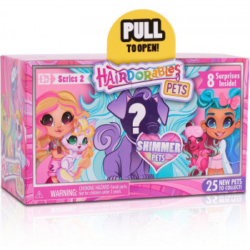 Hairdorables - Seria 2 - Zwierzątko-niespodzianka z akcesoriami - 23731