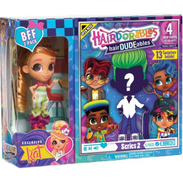 Hairdorables - 2 seria - Laleczka Kat i chłopiec hairDUDEables - 13 niespodzianek 23775
