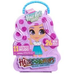 Hairdorables – seria 5 – Lalka w walizce w kropki + akcesoria 23850