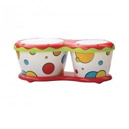 Halilit MD816 Dziecięce bongosy - dwa kolory do wyboru