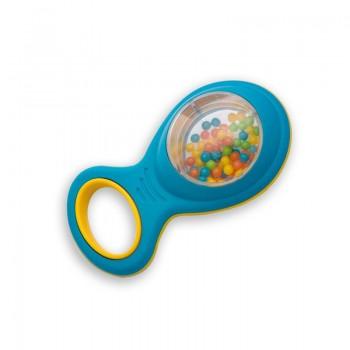 Halilit MP36724 Grzechotka z kuleczkami - trzy kolory