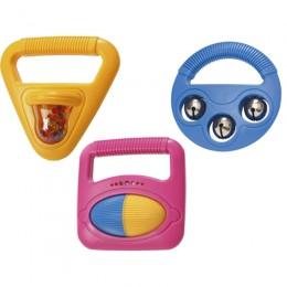 Halilit MP38320 Zabawki muzyczne - kółko, kwadrat, trójkąt - kolory do wyboru