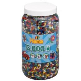 Koraliki Hama MIDI 13.000 Koralików Mix Kolorów 211