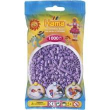 Koraliki Hama MIDI 1000 Koralików 207-45 Kolor Fioletowy Pastelowy