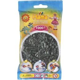 Koraliki Hama MIDI 1000 Koralików 207-28 Kolor Ciemny Zielony