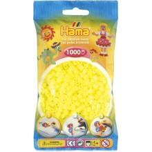Koraliki Hama MIDI 1000 Koralików 207-39 Kolor Żółty Neonowy