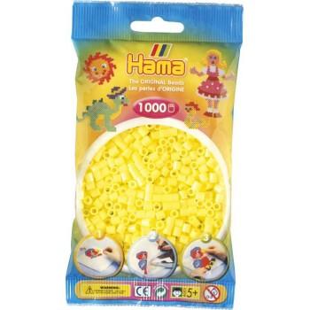 Koraliki Hama MIDI 1000 Koralików 207-43 Kolor Żółty Pastelowy