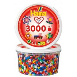Koraliki Hama MIDI 3.000 Koralików Mix Kolorów 210-00