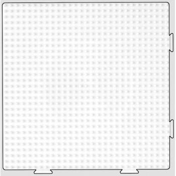 Koraliki Hama Midi Podkładka 234 Duży Kwadrat