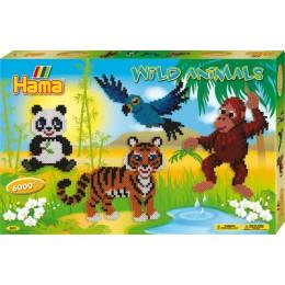 Koraliki Hama 3031 MIDI 6.000 Koralików Dzikie Zwierzęta