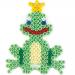 Koraliki Hama Midi - Podkładka Mała żabka - 324