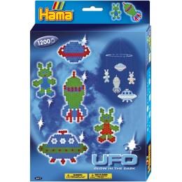 Koraliki Hama 3417 MIDI 1200 UFO Rakieta