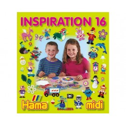 Koraliki HAMA MIDI 39916 Inspiracje 16 Książeczka