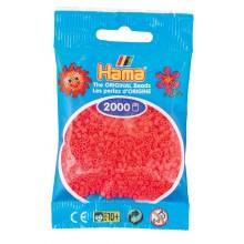 Koraliki Hama Mini 2000 Koralików 501-33 Kolor łososiowe neonowe