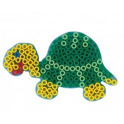 Koraliki Hama Maxi - Podkładka Żółw 8210