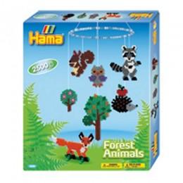 HAMA MIDI Karuzela leśne zwierzaki 3240