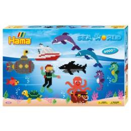 Koraliki Hama 3035 MIDI 6.000 Koralików Morski Świat