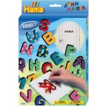 Koraliki Hama 3424 MIDI 2000 Koralików Literki