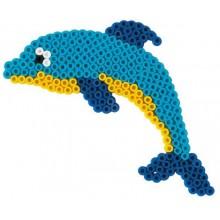 Koraliki Hama 4083 MIDI 1100 Delfin i Konik Morski
