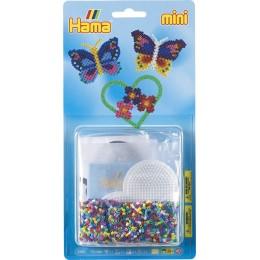 Koraliki Hama 5502 MINI 2000 Koralików Motyle