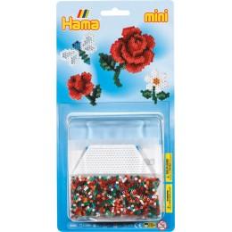 Koraliki Hama 5506 MINI 2000 Koralików Kwiaty