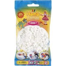 Koraliki Hama MIDI 1000 Koralików 207-01 Kolor Biały