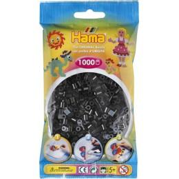 Koraliki Hama MIDI 1000 Koralików 207-18 Kolor Czarny