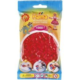 Koraliki Hama MIDI 1000 Koralików 207-05 Kolor Czerwony