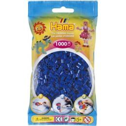 Koraliki Hama MIDI 1000 Koralików 207-08 Kolor Niebieski