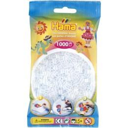 Koraliki Hama MIDI 1000 Koralików 207-19 Kolor Transparentny
