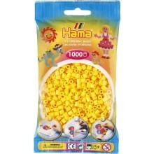 Koraliki Hama MIDI 1000 Koralików 207-03 Kolor Żółty