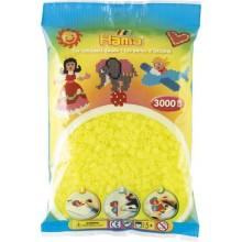 Koraliki Hama MIDI 3000 Koralików 201-39 Kolor Żółty Neonowy