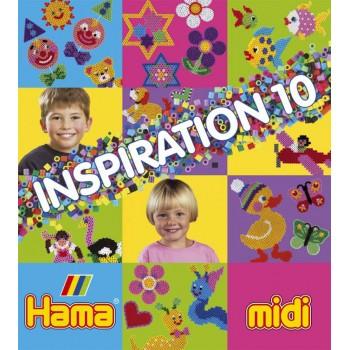 Koraliki Hama MIDI 39910 Inspiracje 10 Książeczka