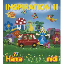 Koraliki Hama MIDI 39911 Inspiracje 11 Książeczka