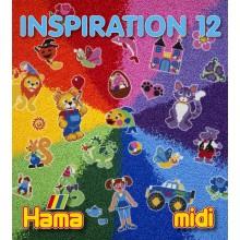 Koraliki Hama MIDI 39912 Inspiracje 12 Książeczka