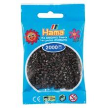 Koraliki Hama MINI 2000 Koralików 501-12 Kolor Brązowy