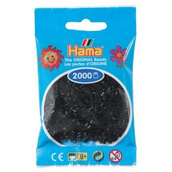 Koraliki Hama MINI 2000 Koralików 501-18 Kolor Czarny