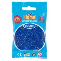 Koraliki Hama MINI 2000 Koralików 501-08 Kolor Niebieski