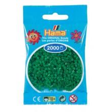 Koraliki Hama MINI 2000 Koralików 501-10 Kolor Zielony